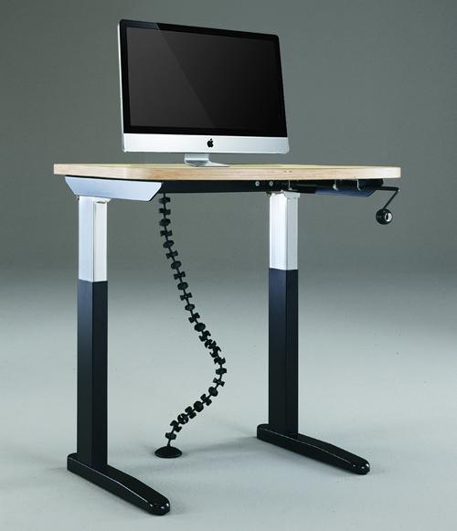 Three drawers Modern no-handle design. Matt Grey Dressing Table or Study Desk