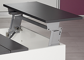 Swing Up Table Top Fitting