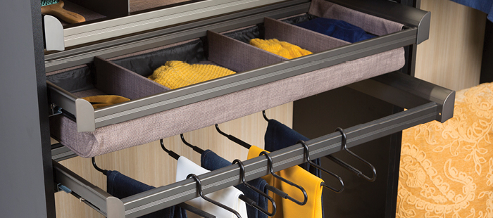 Shop Now for TAG Hardware ENGAGE Closet components from Häfele.