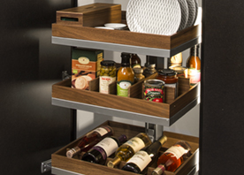 Kitchen Pantry Products Storage