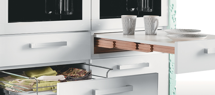 Shop Rapid Pull-Out Table System from Häfele.