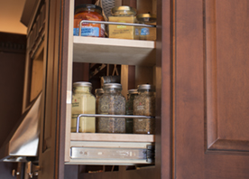 Wall Pull Outs. Use Between Cabinets