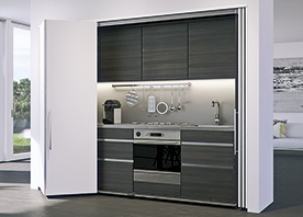 Pivoting Pocket Doors