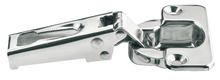 Concealed Hinge, Stainless Steel, Half Overlay product photo