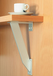Countertop Support, Aluminum, Rectangular Flat product photo