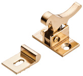 Elbow Catch, Deluxe Model, Brass product photo