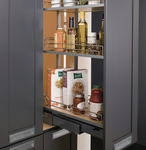Pull-Out Pantry Frame, Full Extension, 256 lbs. Weight Capacity product photo