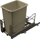 Waste Bin Pull-Out, Kesseböhmer Single Bottom Mount product photo