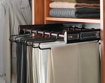 12 Hanger Pants Rack Pull-out, Synergy Collection, 18