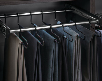 24 Hanger Pants Rack Pull-out, Synergy Collection, 30