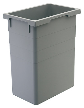 38 Liter Replacement Waste Bin, for Hailo Euro and Easy Cargo Pull Out Units