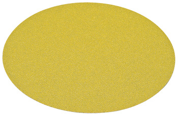Abrasive Paper Disc, 5 Aluminum Oxide, Hook-N-Loop, no Holes