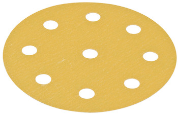 Abrasive Paper Disc, 5 Hook-N-Loop, 9 Holes
