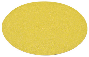 Abrasive Paper Disc, 6 Aluminum Oxide, Hook-N-Loop, no Holes