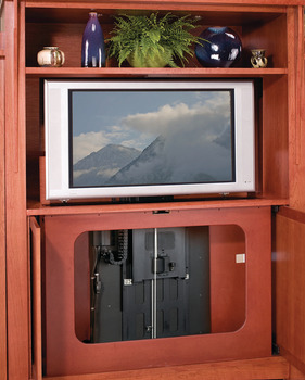 Accuride Motorized TV Lift, For TVs up to 50, 120 lbs.