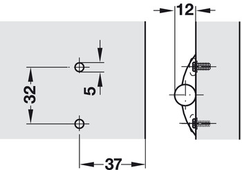 Adapter Plate, Face Frame or Standard
