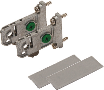 Adapter Set for Grass Vionaro Drawer System, for 89 mm (3 1/2) Side Height
