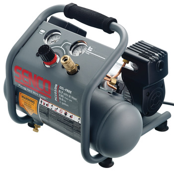 Air Compressor, .5 HP, 1 Gal. Finish & Trim
