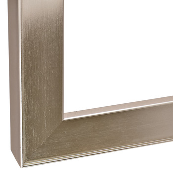 Aluminum Frame Profile, 26 x 14 mm, with Reduced Frame, Glass Thickness 4 mm