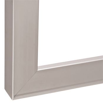 Aluminum Frame Profile, 26 x 14 mm, with Reduced Frame