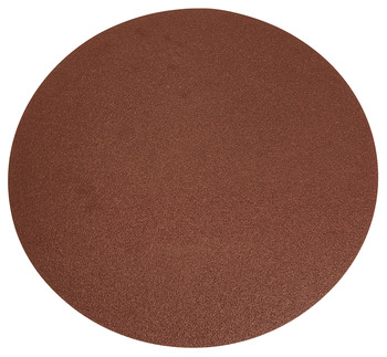Aluminum Oxide Resin Cloth Discs, 12 PSA, No Holes, F Weight