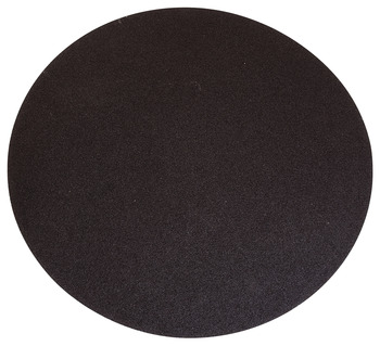 Aluminum Oxide Resin Cloth Discs, 12 PSA, No Holes, X Weight