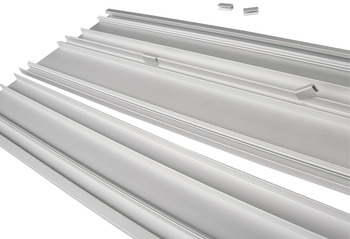 Aluminum Shelf, for 21 C Wall and Sta-Pole System
