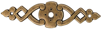 Backplate, Antique Bronze, Zinc