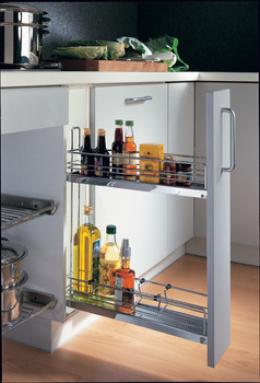 Base Pull-Out, 2-Tier, 90°