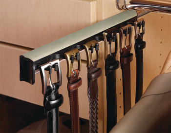 Belt Rack, TAG Synergy Collection, 5 Hook, 11 15/16