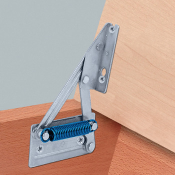 Bench Seat Hinge, for Light Weight Seat Tops, without Spring