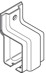 Bracket, Sidewall, Open-End Type, For Wall Mounting