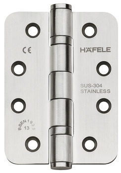 Butt Hinge, Startec, Stainless Steel, 4 x 3
