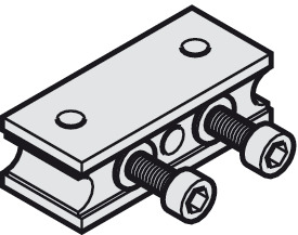 Cable fixing block, For Slido Classic Synchro