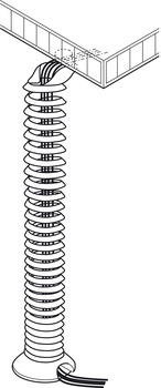 Cable Guide, Spiral Design