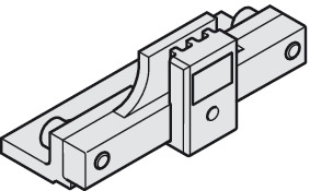 Clamping Element, for Fastening Continuous Toothed Belt