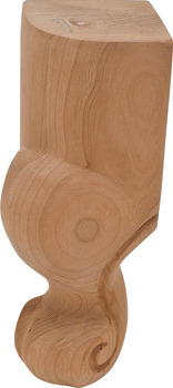 Claw Wood Leg, 6 Tall