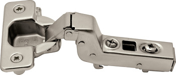 Clip Hinge, Opening Angle 110°, Inset Overlay