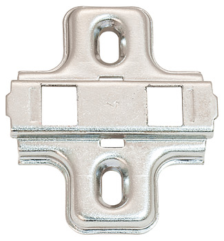 Clip Mounting Plate, Clip-on, For screw fixing with chipboard screws