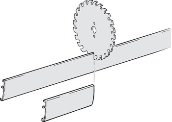 Clip-On Fascia, To Upper Track