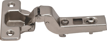 Clip-On Hinge, Opening Angle 110°, Inset Overlay