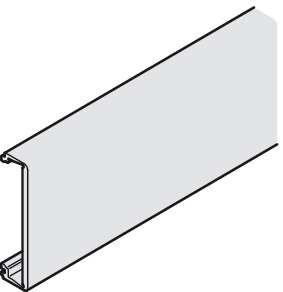Clip-on panel, 31 mm