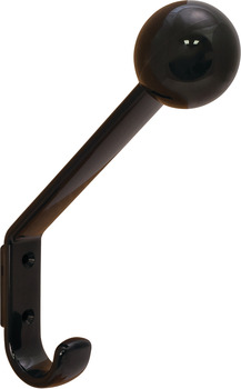 Coat and Hat Hook, HEWI, Polyamide, 22 x 117 x 174 mm
