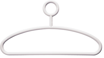 Coat Hanger, HEWI, with Swivel Enclosed Hook, Polyamide, Ø15 mm