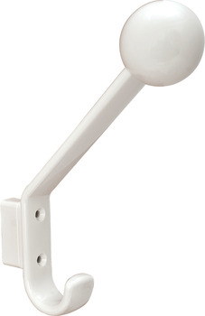 Coat & Hat Hook, HEWI, Polyamide, with 15 mm Spacer
