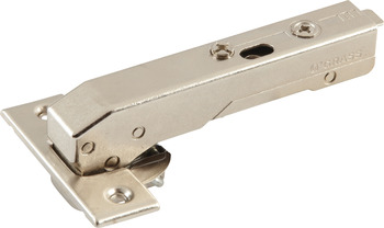Concealed Blind Corner Hinge, Grass TIOMOS, 110° Opening Angle, Inset Mounting