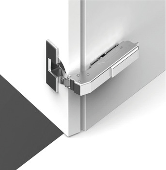 Concealed Blind Corner Hinge, Grass TIOMOS, 110° Opening Angle, Overlay Mounting