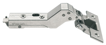 Concealed Corner Hinge, 110°, for 45° Angle Cabinets, Inset Mounting, Tiomos