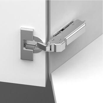 Concealed Corner Hinge, 110° Opening Angle, Inset