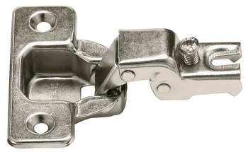 Concealed Face Frame Hinge, Short Arm, 105° Opening Angle, Screw-mount
